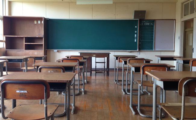 たからべ森の学校-普通教室