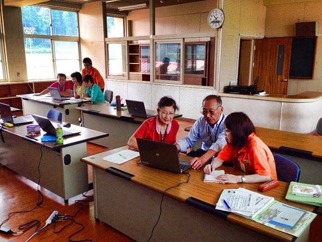 パソコン講座グループワーク