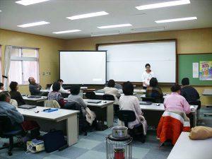 パソコン初心者講座授業風景