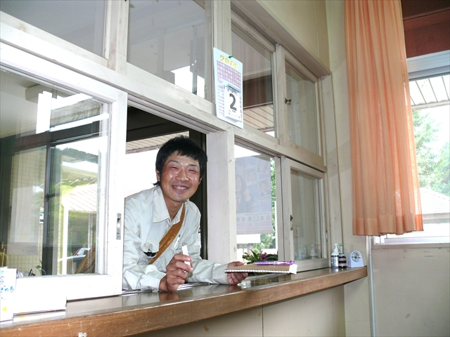 豊田さん来校