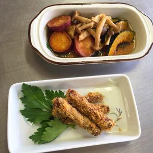 野菜料理2種