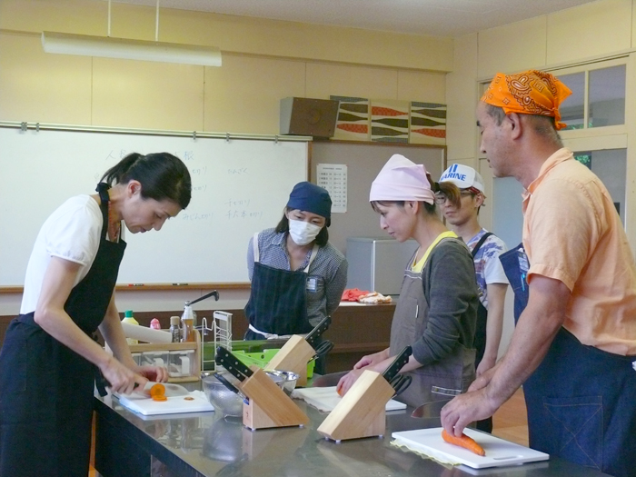 6月3日野菜調理実習2