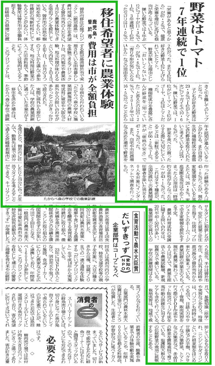 農業協同組合新聞
