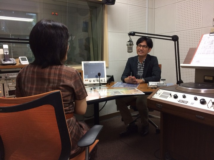 MBCラジオ「かごしま街角通信」に出演