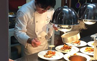 フランス料理コースフルコース