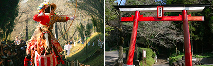 曽於市末吉町住吉神社の流鏑馬祭り