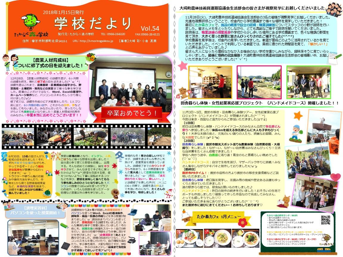 newsletter20180115