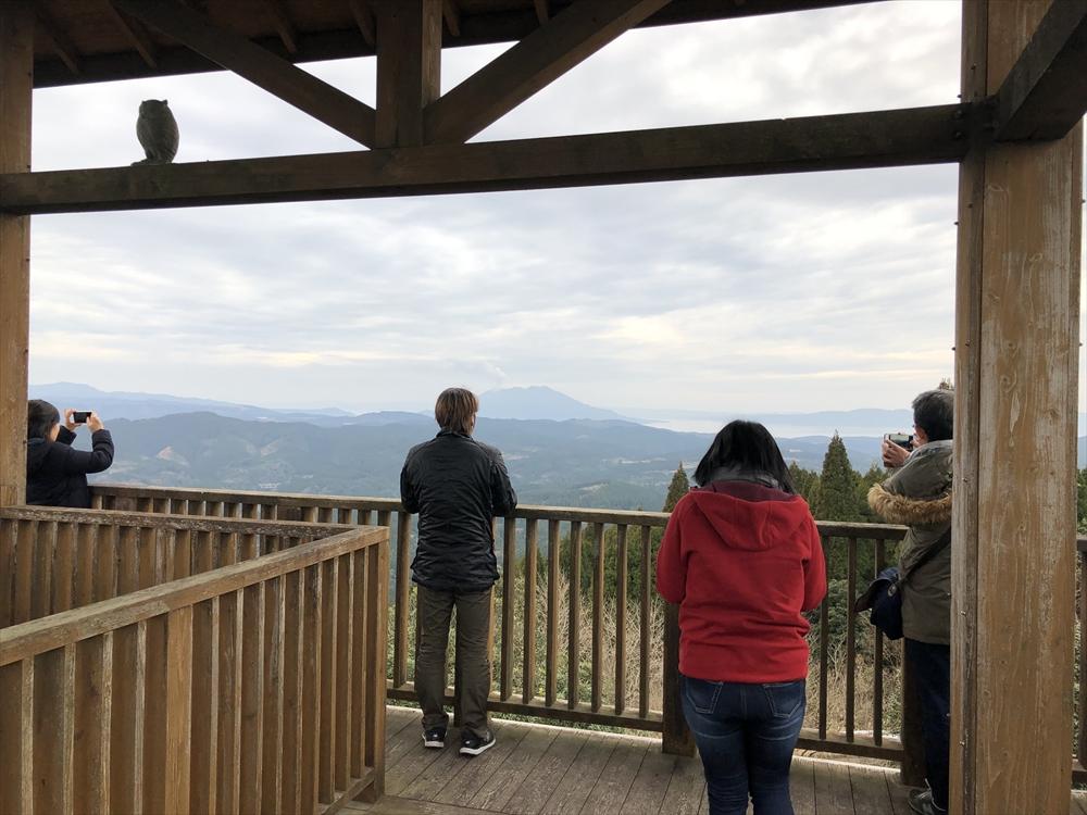白鹿岳展望台からの写真