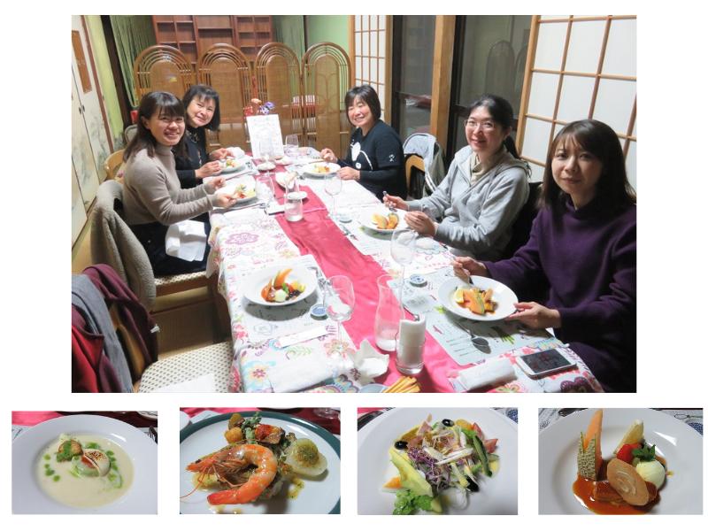 食事中の写真