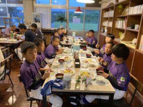 岳南ソフトボールスポーツ少年団の皆さんが宿泊されました